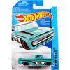 Custom 62 Chevy #72 teal (HW City) - 2015 Hot Wheels Basic Mainline C4982