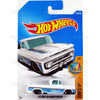 Custom 62 Chevy Pickup #348 white (Surf's UP) - 2017 Hot Wheels Basic Mainline Q Case assortment C4982  by Mattel.