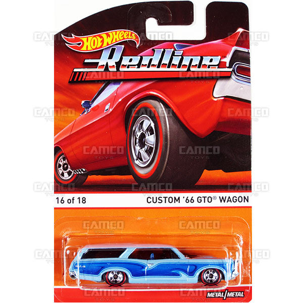 Custom 66 GTO Wagon - 2015 Hot Wheels Heritage F Case (Redline) Assortment BDP91-956F by Mattel.
