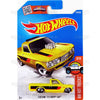 Custom 72 Chevy Luv #148 Yellow (HW Hot Trucks) - from 2016 Hot Wheels Basic Case Worldwide Assortment C4982 by Mattel.