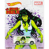 Custom 77 Dodge Van (She-Hulk) - 2017 Hot Wheels Pop Culture WOMEN OF MARVEL Case J Assortment DLB45-956J