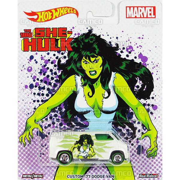 Custom 77 Dodge Van - 2017 Hot Wheels Pop Culture WOMEN OF MARVEL J ... eea829fcb