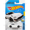 Custom Datsun 240z #76 white Fugu Z (Factory Fresh) - from 2017 Hot Wheels basic mainline D case Worldwide assortment C4982 by Mattel.