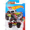 Custom Ford Bronco #153 Red - 2016 Hot Wheels Basic Mainline D Case WorldWide Assortment C4982