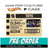 (DC Comics-Alex Ross) Factory Sealed Case of 12 - 2018 Hot Wheels Pop Culture P Case Assortment DLB45-956P by Mattel.