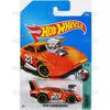 Dodge Charger Daytona #6 Orange (Tooned) - from 2017 Hot Wheels basic mainline B case Worldwide assortment C4982 by Mattel.