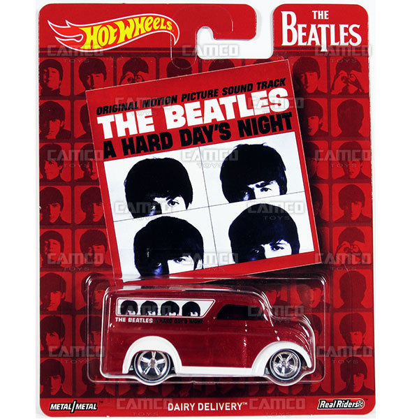 Dairy Delivery - 2017 Hot Wheels Pop Culture H Case (THE BEATLES) DLB45-956H