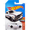 Datsun 620 #181 white (HW Hot Trucks) - 2017 Hot Wheels basic mainline H case Worldwide assortment C4982 by Mattel