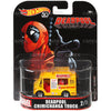 DEADPOOL Chimichanga Truck - 2018 Hot Wheels Retro Replica Entertainment MARVEL H Case assortment DMC55-956H by Mattel.
