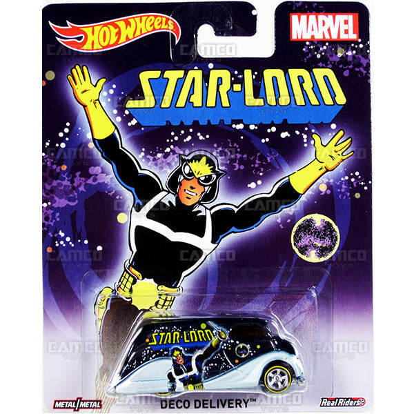 DECO DELIVERY (Star-lord) - 2015 Hot Wheels Pop Culture D Case (MARVEL) Assortment CFP34-956D by Mattel.