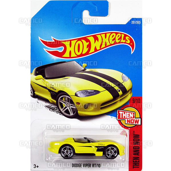 Dodge Viper RT10 #281 yellow (Then and Now) - 2017 Hot Wheels Basic Mainline M Case - C4982