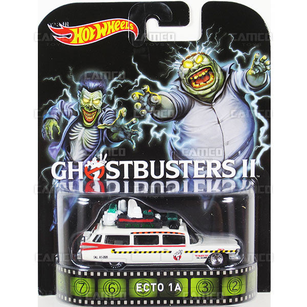 ECTO 1A (Ghostbusters 2) - 2015 Hot Wheels Retro Entertainment F Case BDT77-996F by Mattel