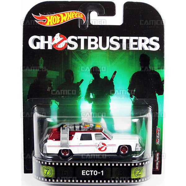 Ecto 1 (Ghostbusters) - 2017 Hot Wheels Retro Entertainment A Case DMC55-956A by Mattel.