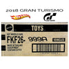 FACTORY SEALED Case of 24 - 2018 Hot Wheels Basic GRAN TURISMO Case Assortment FKF26-999A by Mattel.