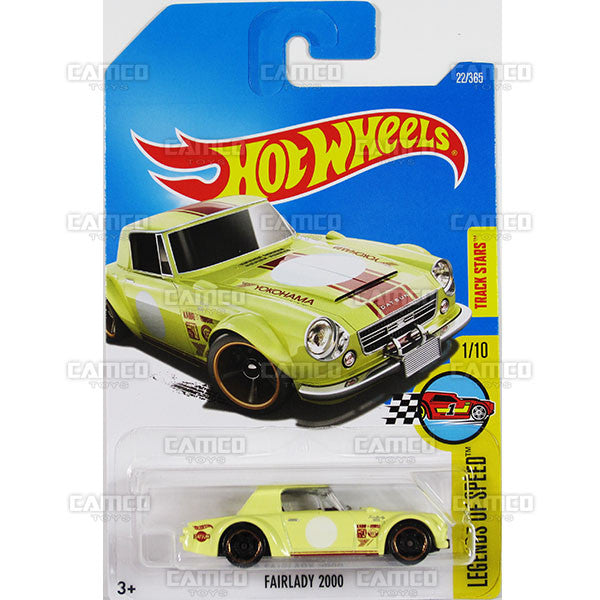 Fairlady 2000 #22 Yokohama (Legends of Speed) - from 2017 Hot Wheels basic mainline B case Worldwide assortment C4982 by Mattel.