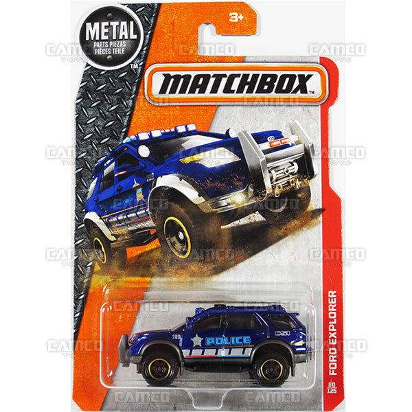 Ford Explorer #80 blue - 2016 Matchbox