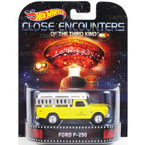 FORD F-250 (Close Encounters of the Third Kind) - 2015 Hot Wheels Retro Entertainment G Case BDT77-996G by Mattel