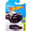 Ford Focus RS #176 black (HW Speed Graphics) - 2017 Hot Wheels basic mainline H case Worldwide assortment C4982 by Mattel
