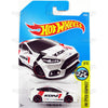 Ford Focus RS #79 white KONI (HW Speed Graphics) - from 2017 Hot Wheels basic mainline D case Worldwide assortment C4982 by Mattel.