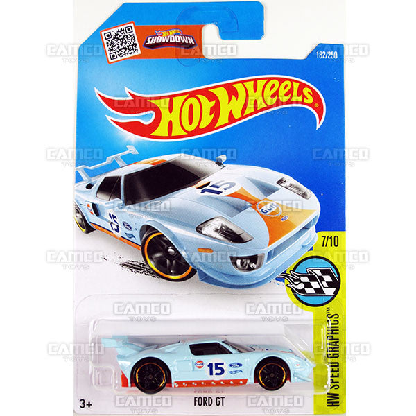 Ford GT #182 Gulf - 2016 Hot Wheels Mainline C Case WorldWide Assortment C4982