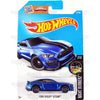 Ford Shelby GT350R #87 blue - 2016 Hot Wheels Basic Mainline Case WorldWide Assortment C4982