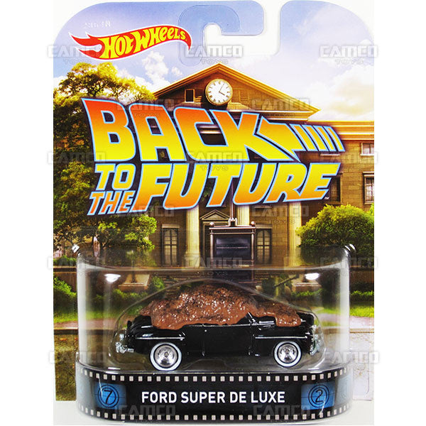 FORD SUPER DE LUXE (Back to the Future) - 2015 Hot Wheels Retro Entertainment F Case BDT77-996F by Mattel