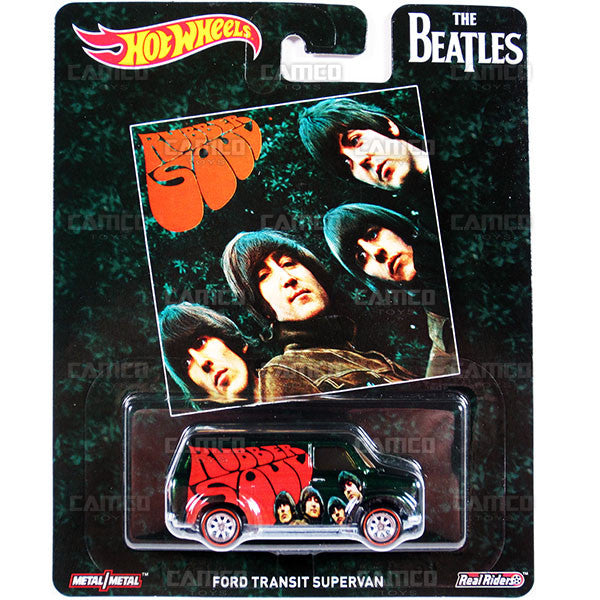 Ford Transit Supervan - 2017 Hot Wheels Pop Culture H Case (THE BEATLES) DLB45-956H