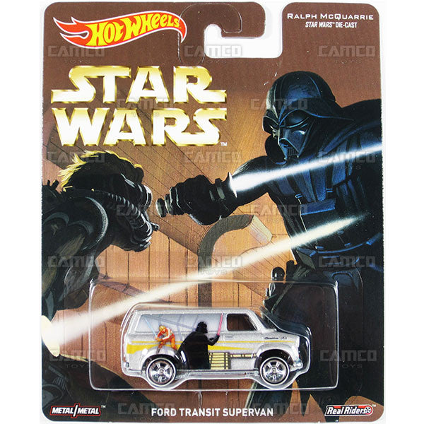 FORD TRANSIT SUPERVAN (Ralph McQuarrie) - from 2016 Hot Wheels Pop Culture F Case (STAR WARS) Assortment DLB45-956F by Mattel.