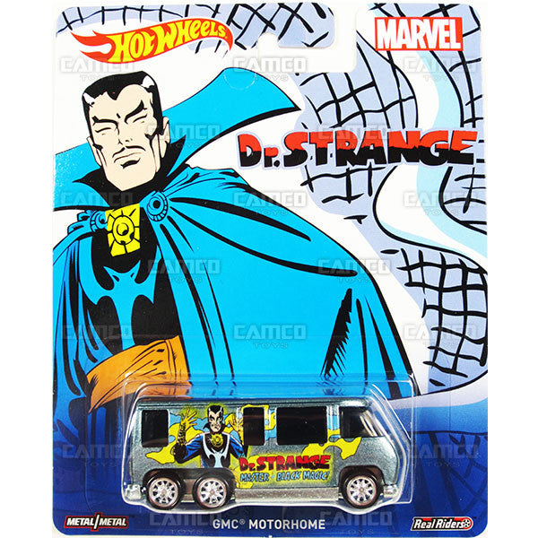 GMC MOTORHOME (Dr. Strange) - from 2016 Hot Wheels Pop Culture C Case (MARVEL) Assortment DLB45-956C by Mattel.
