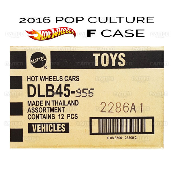 FACTORY SEALED Case of 12 - 2016 Hot Wheels Pop Culture F Case (STAR WARS - Ralph McQuarrie) assortment DLB45-956F