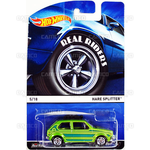 Hare Splitter - 2015 Hot Wheels Heritage A Case (Real Riders) Assortment BDP91-956A by Mattel.