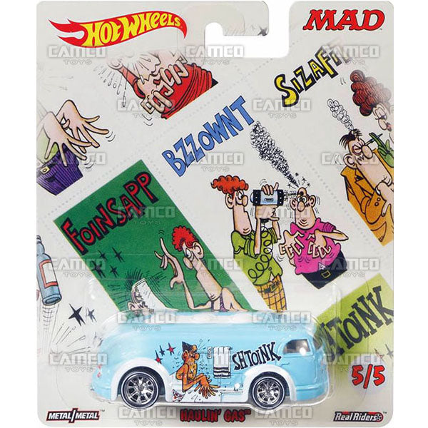 Haulin Gas - 2017 Hot Wheels Pop Culture MAD MAGAZINE K Case Assortment DLB45-956K by Mattel.