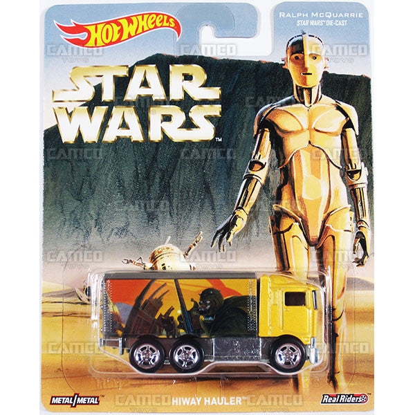 HIWAY HAULER (Ralph McQuarrie) - from 2016 Hot Wheels Pop Culture F Case (STAR WARS) Assortment DLB45-956F by Mattel.