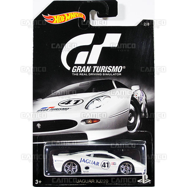 Jaguar XJ220 - from 2016 Hot Wheels GRAN TURISMO A Case Assortment DJL12-999A by Mattel.