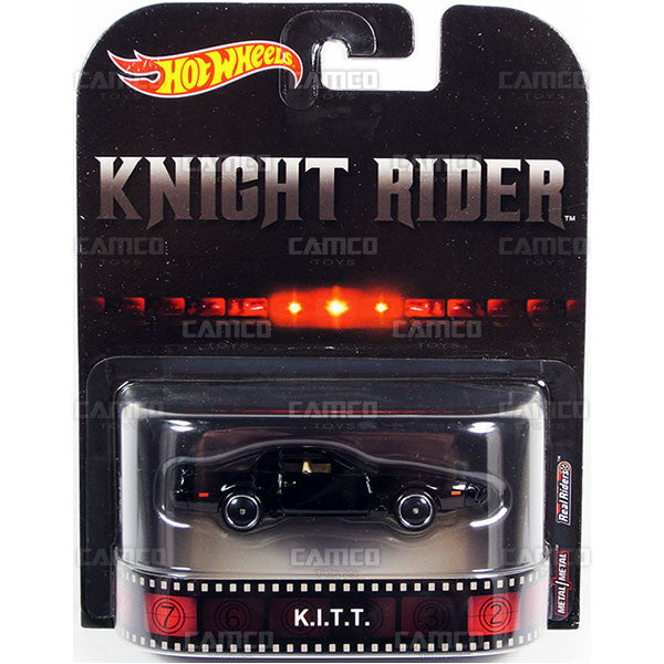 Kitt (Knight Rider) - 2017 Hot Wheels Retro Entertainment A Case DMC55-956A by Mattel.