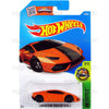 Lamborghini Huracan LP610-4 #76 Orange (HW Exotics) - from 2016 Hot Wheels Basic Case Worldwide Assortment C4982 by Mattel.