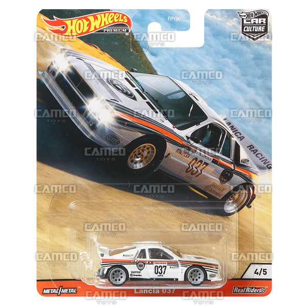 Lancia 037 - 2020 Hot Wheels Premium Car Culture R Case HILL CLIMBERS Assortment FPY86-956R by Mattel.
