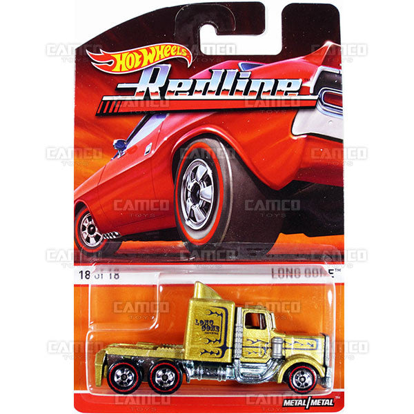 Long Gone - 2015 Hot Wheels Heritage F Case (Redline) Assortment BDP91-956F by Mattel.