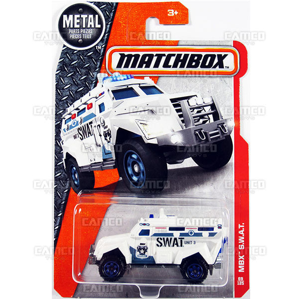 MBX S.W.A.T. #69 - from 2017 Matchbox Basic A Case Assortment 30782 by Mattel