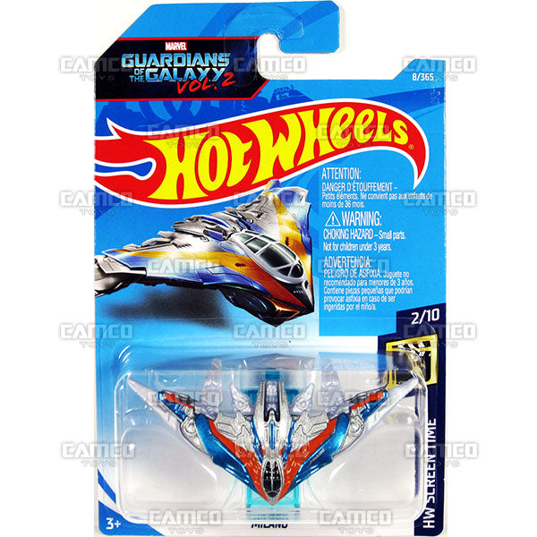 MILANO #8 Guardians of the Galaxy vol 2 (HW Screen Time) - 2018 Hot Wheels Basic Mainline A Case Assortment C4982 by Mattel.