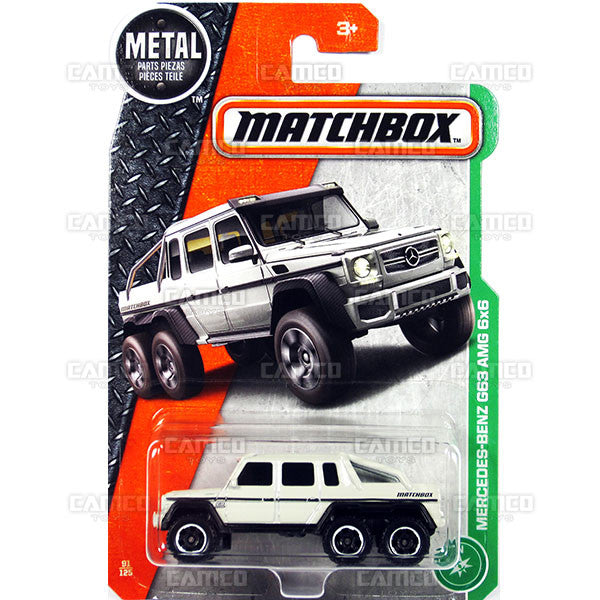 Mercedes-Benz G63 AMG 6x6 #91 - 2017 Matchbox G Case 30782
