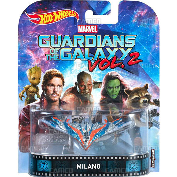Milano Guardians of the Galaxy Vol 2 - 2017 Hot Wheels Retro Entertainment C Case Assortment DMC55-956C