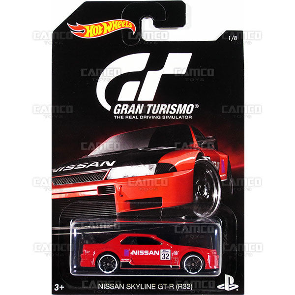 Nissan Skyline GT-R (R32) - 2016 Hot Wheels (Gran Turismo)