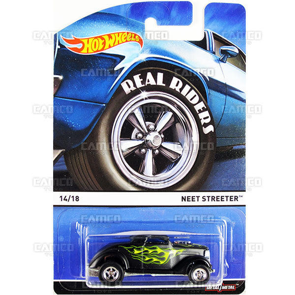 Neet Streeter - 2015 Hot Wheels Heritage E Case (Real Riders) Assortment BDP91-956E by Mattel.