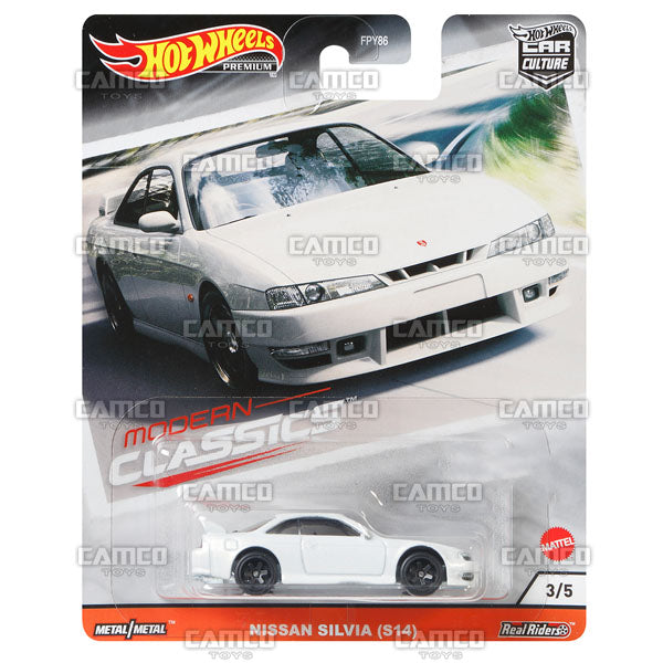 Nissan Silvia (S14) - 2020 Hot Wheels Premium Car Culture S Case MODERN CLASSICS Asortment FPY86-956S by Mattel.