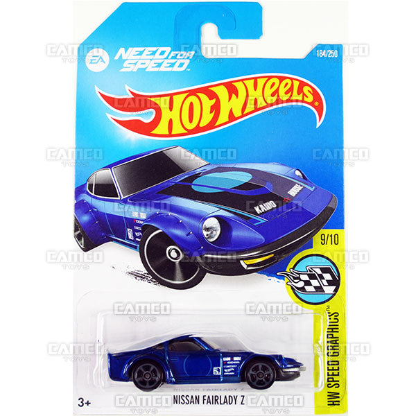 Nissan Fairlady Z #184 Need for Speed - 2016 Hot Wheels Mainline C Case WorldWide Assortment C4982