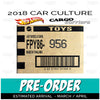 Factory Sealed CARGO CARRIERS Case of 10 - 2018 Hot Wheels Car Culture B Case assortment FPY86-956B by Mattel.