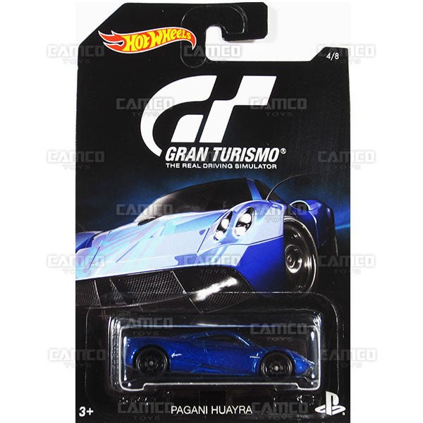 Pagani Huayra - from 2016 Hot Wheels GRAN TURISMO A Case Assortment DJL12-999A by Mattel.