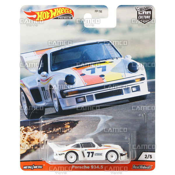 Porsche 934.5 - 2020 Hot Wheels Premium Car Culture R Case HILL CLIMBERS Assortment FPY86-956R by Mattel.