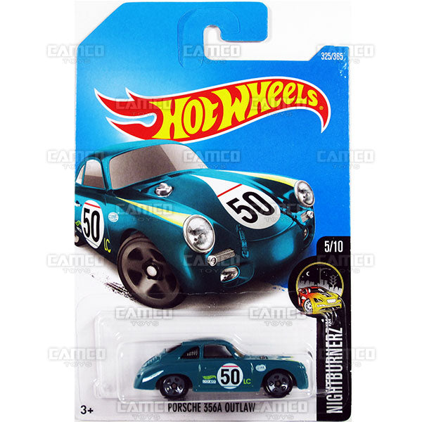 Porsche 365A Outlaw #325 (Nightburnerz) - 2017 Hot Wheels Basic Mainline P Case assortment C4982  by Mattel.